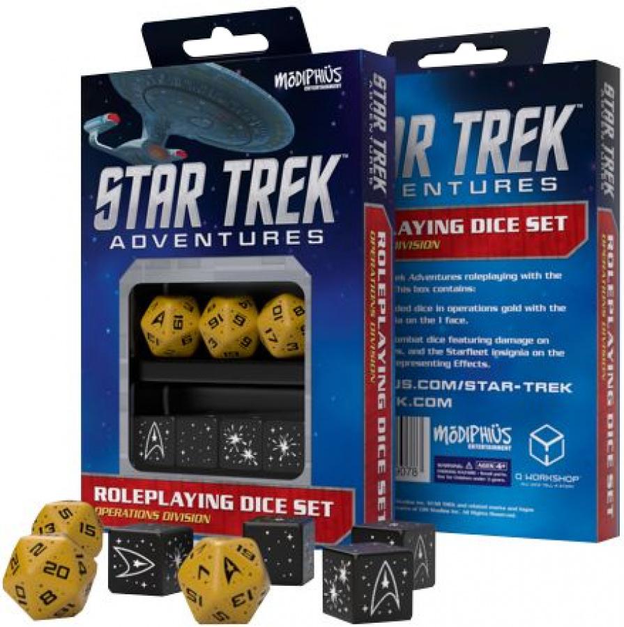 Star Trek Adventures RPG: Operations Division Dice Set
