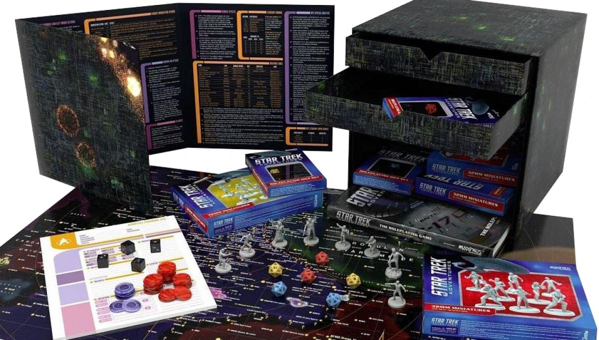 Star Trek Adventures RPG: Borg Cube Collector's Edition