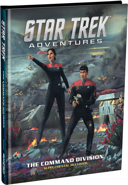 Star Trek Adventures RPG: The Command Division - Supplemental Rulebook