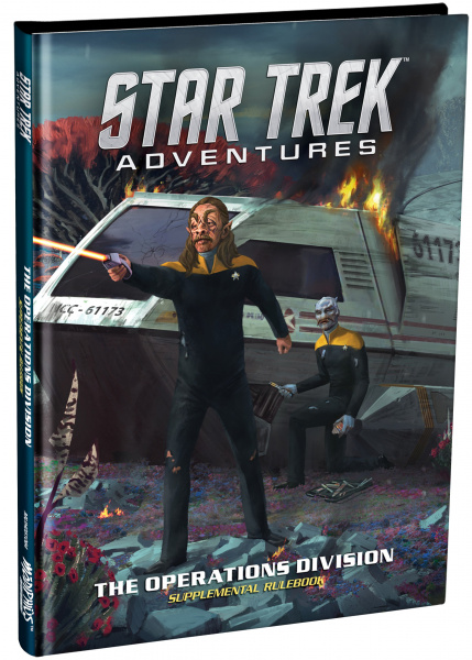 Star Trek Adventures RPG: The Operations Division - Supplemental Rulebook