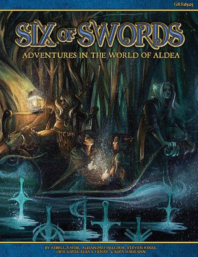 Blue Rose RPG: Six of Swords