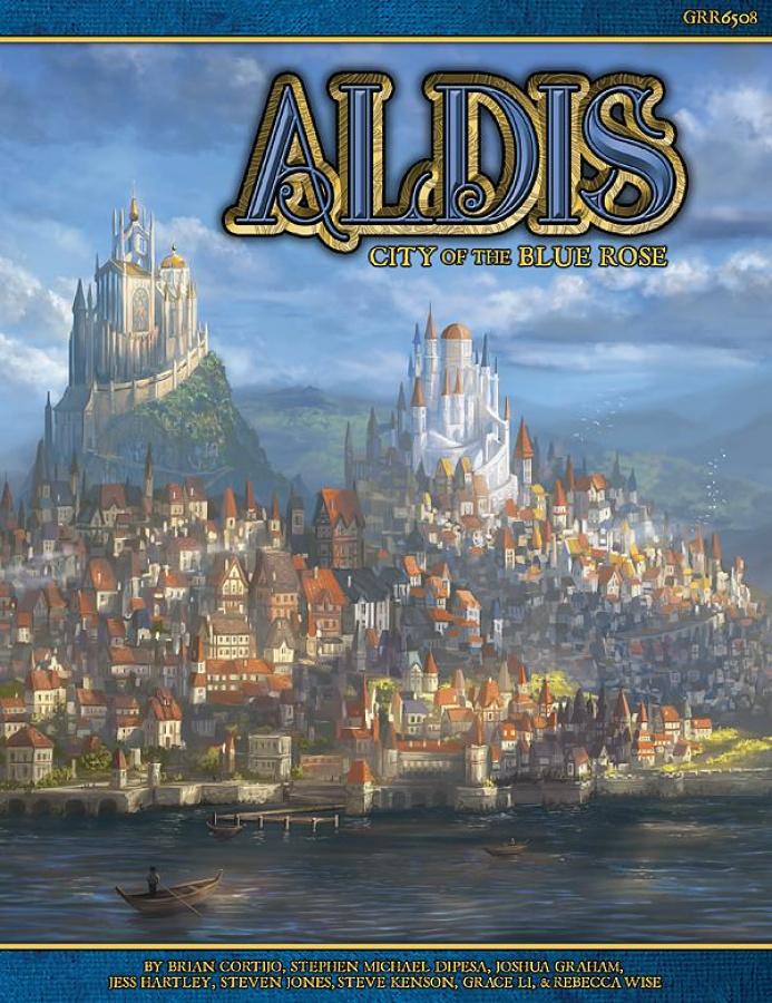 Blue Rose RPG: Aldis - City of the Blue Rose