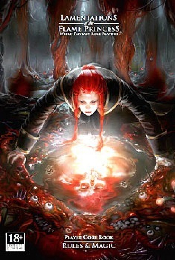 Lamentations of the Flame Princess Player Core Book: Rules & Magic