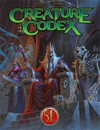 Creature Codex (5th Edition)