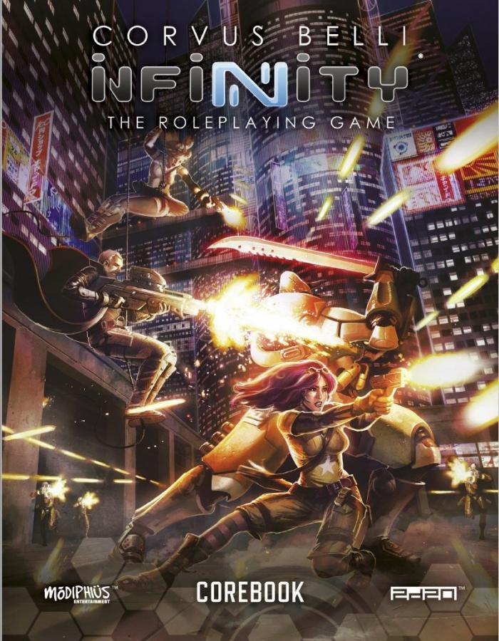 Infinity RPG: Corebook