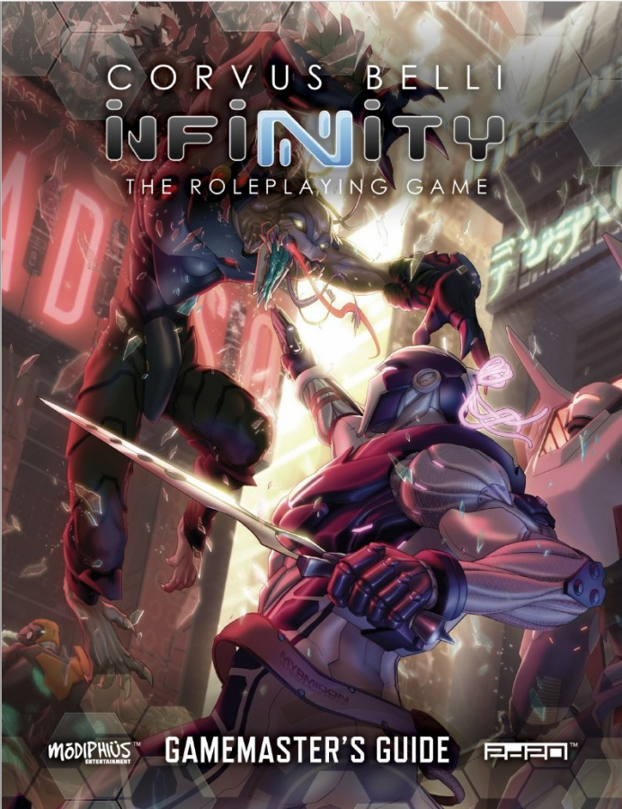 Infinity RPG: Gamemaster's Guide
