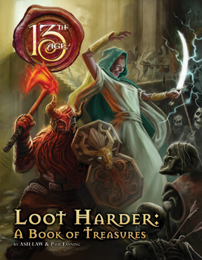 13th Age RPG: Loot Harder - A Book of Treasures