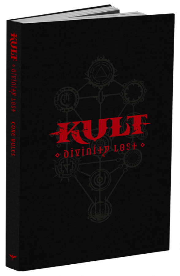 Kult: Divinity Lost - Core Rules - Black Edition