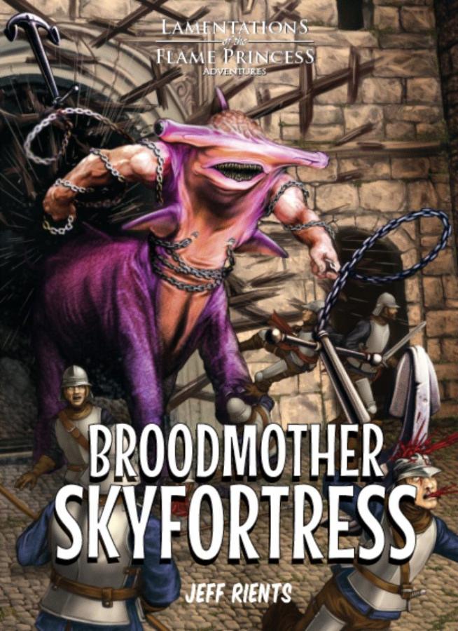 Lamentations of the Flame Princess: Adventures - Broodmother Skyfortress (twarda oprawa)