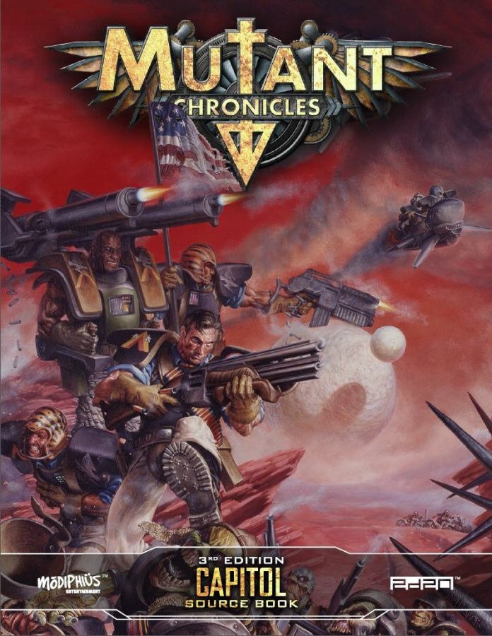 Mutant Chronicles RPG (3rd Edition) - Capitol Source Book