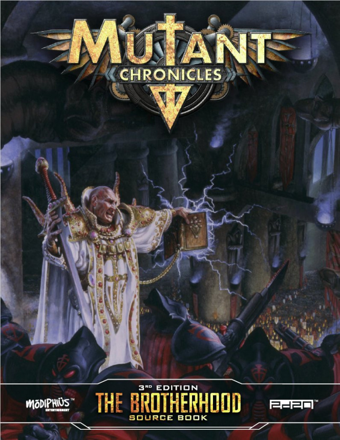 Mutant Chronicles RPG (3rd Edition) - The Brotherhood Source Book