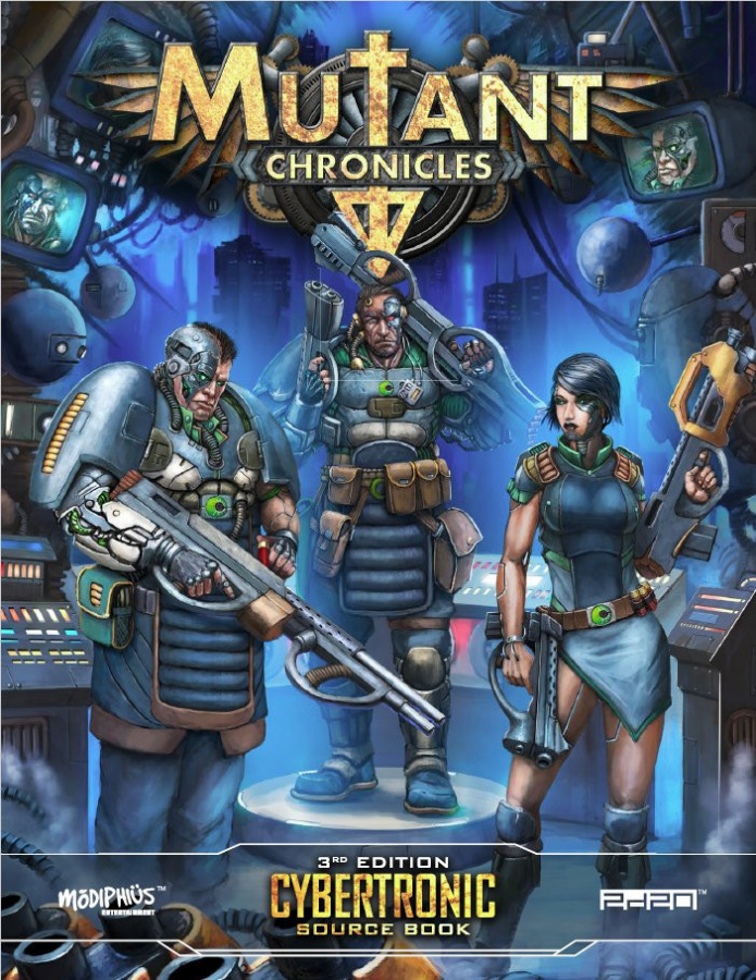 Mutant Chronicles RPG (3rd Edition) - Cybertronic Source Book