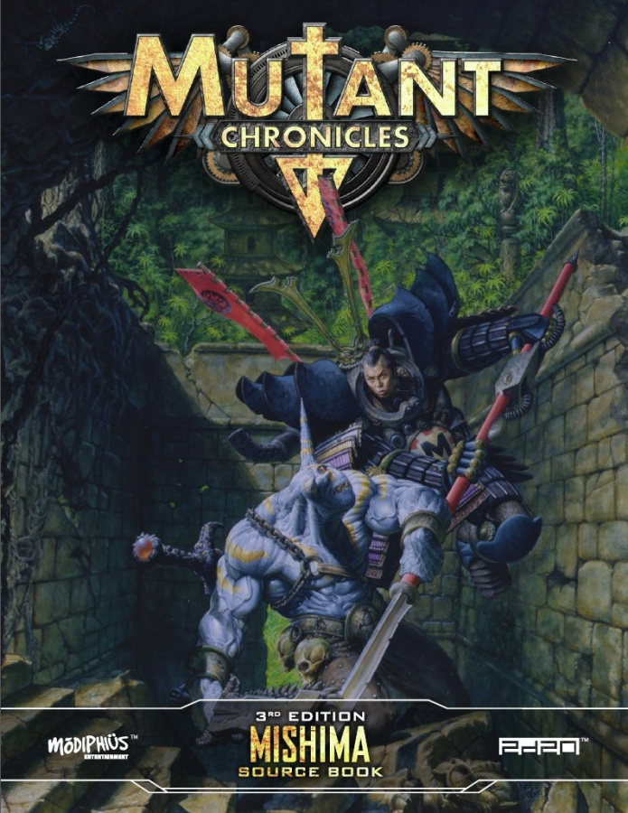 Mutant Chronicles RPG (3rd Edition) - Mishima Source Book