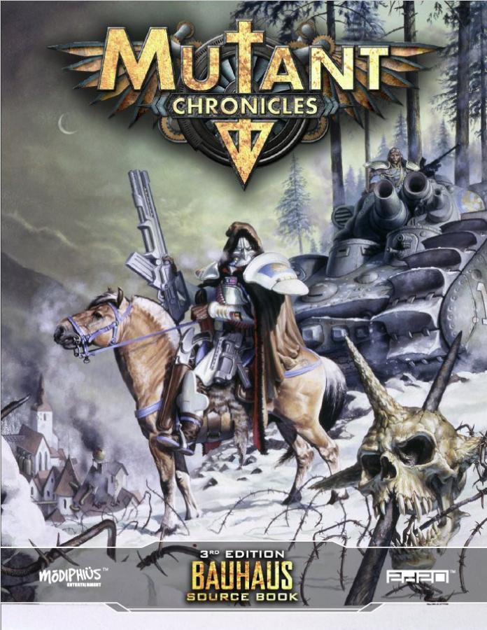 Mutant Chronicles RPG (3rd Edition) - Bauhaus Source Book