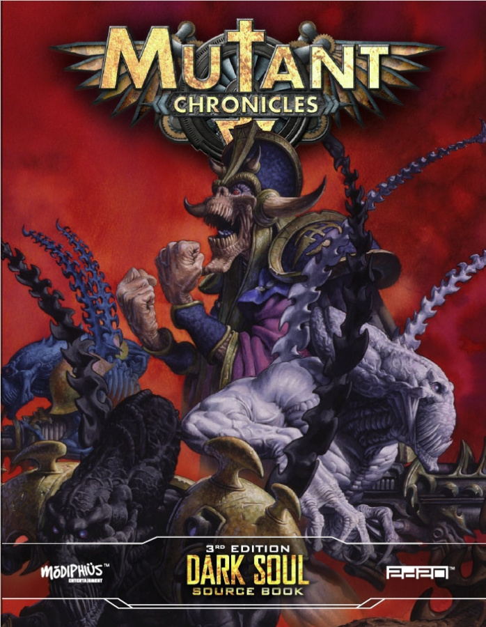 Mutant Chronicles RPG (3rd Edition) - Dark Soul Source Book