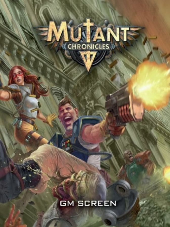 Mutant Chronicles RPG (3rd Edition) - GM Screen
