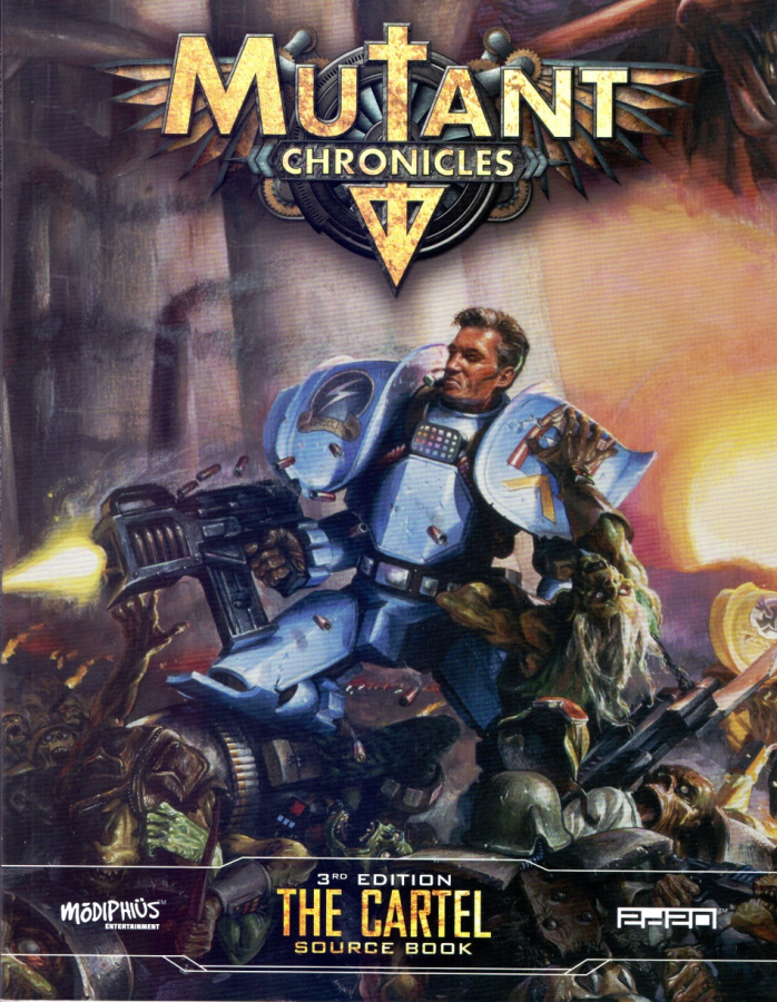 Mutant Chronicles RPG (3rd Edition) - The Cartel Source Book