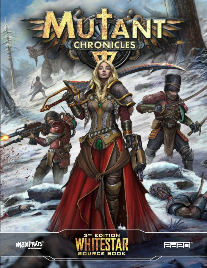 Mutant Chronicles RPG (3rd Edition) - Whitestar Source Book
