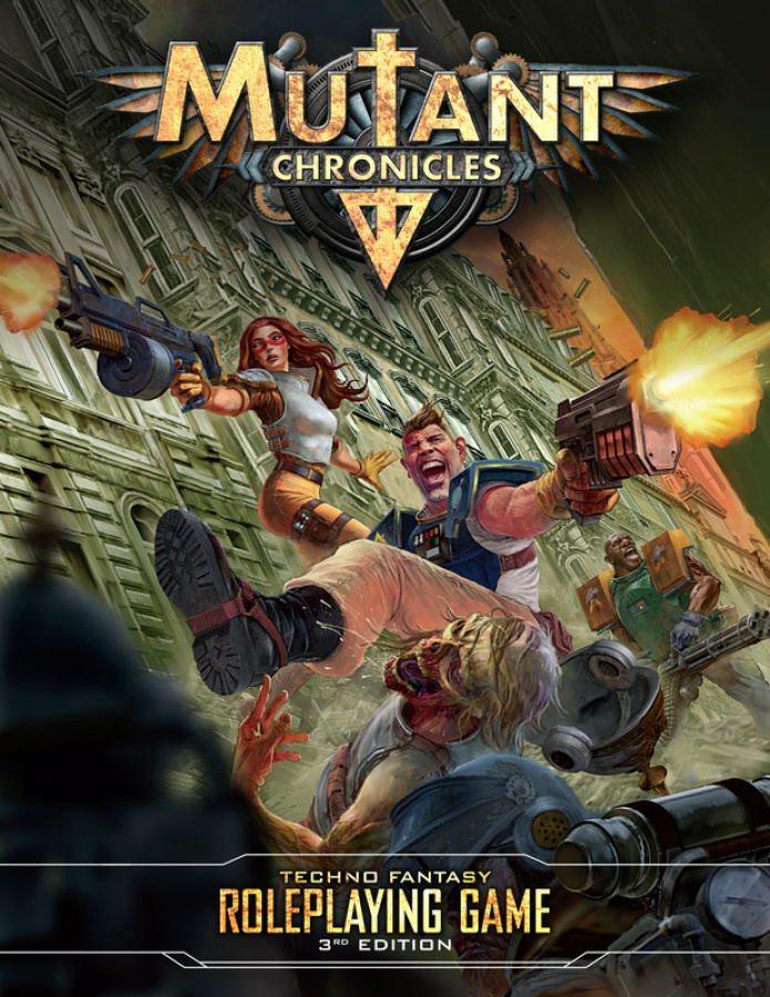 Mutant Chronicles RPG (3rd Edition)
