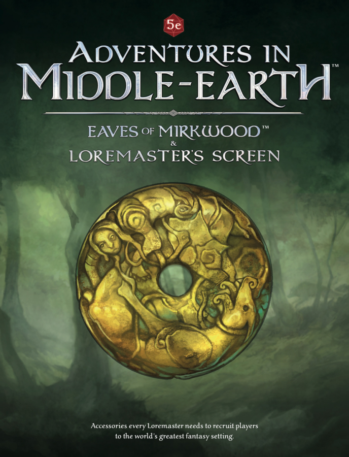 Adventures in Middle-earth RPG: The Eaves of Mirkwood and Loremaster's Screen