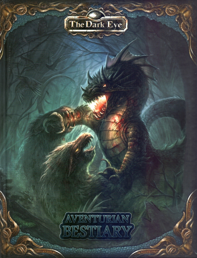 The Dark Eye - Aventurian Bestiary (twarda oprawa)