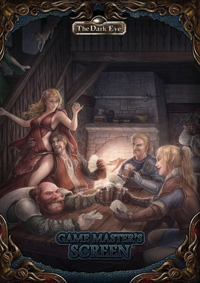 The Dark Eye - Game Master Screen