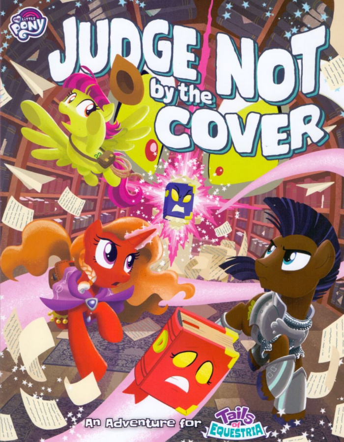 My Little Pony: Tails of Equestria RPG - Judge Not by the Cover