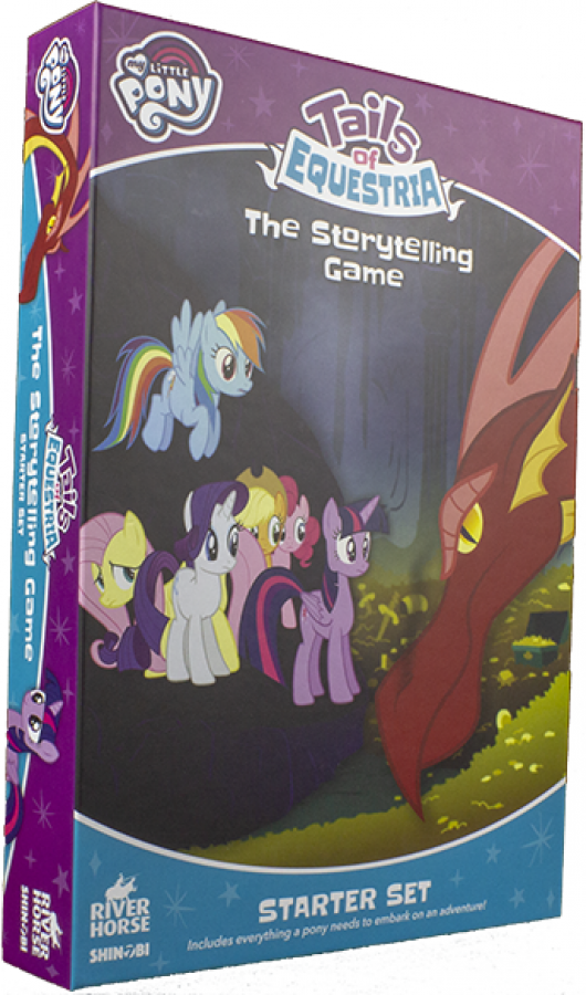 My Little Pony: Tails of Equestria RPG - The Storytelling Game Starter Set
