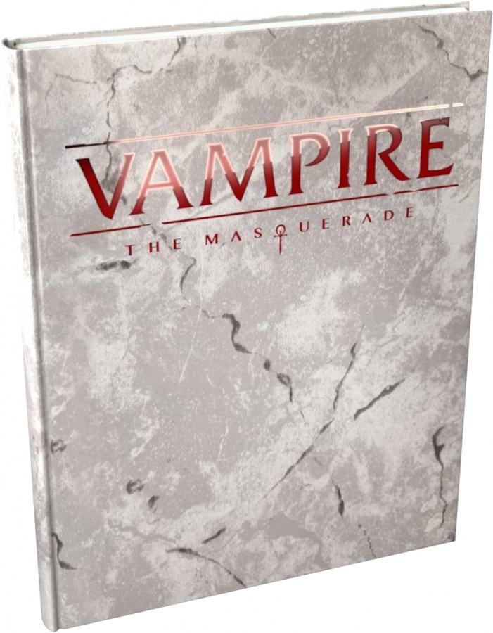 Vampire: The Masquerade 5th Edition - Deluxe Rulebook