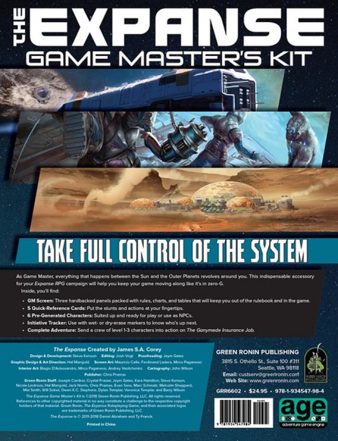 The Expanse RPG: Game Master's Kit