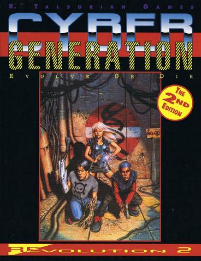 Cyberpunk 2020: CyberGeneration (2nd Edition)