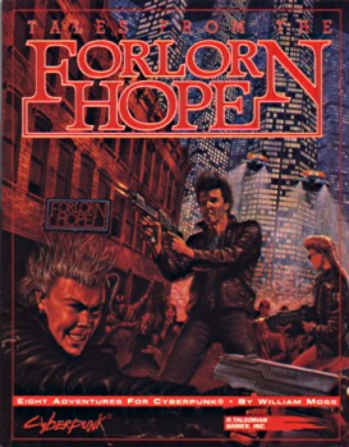 Cyberpunk 2020: Tales from the Forlorn Hope
