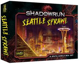 Shadowrun 5th: Seattle Sprawl - A Sixth World Box Set