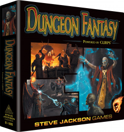 Dungeon Fantasy RPG (Powered by GURPS)