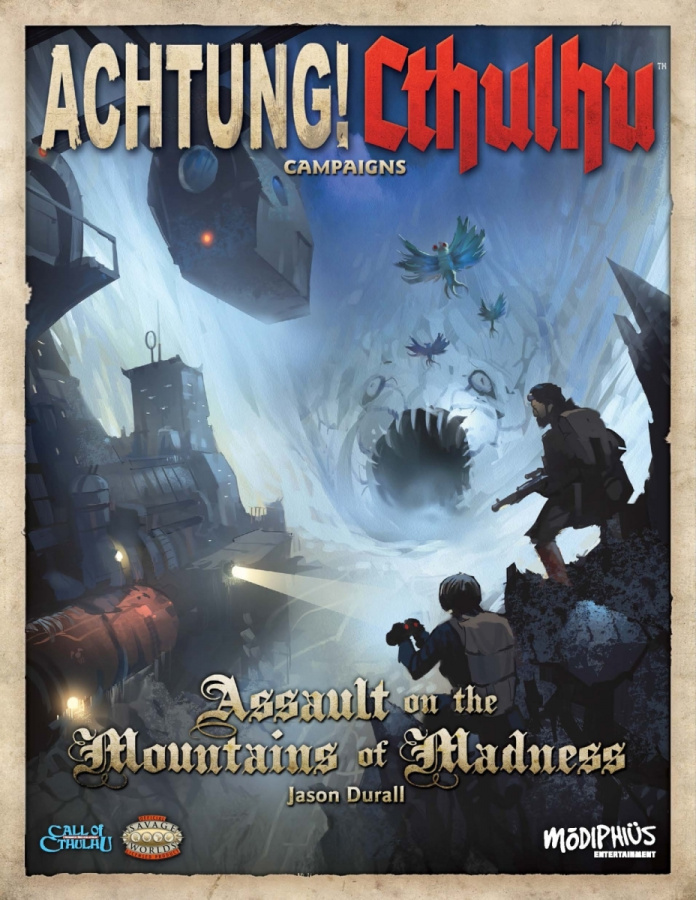 Achtung! Cthulhu: Campaigns - Assault on the Mountains of Madness