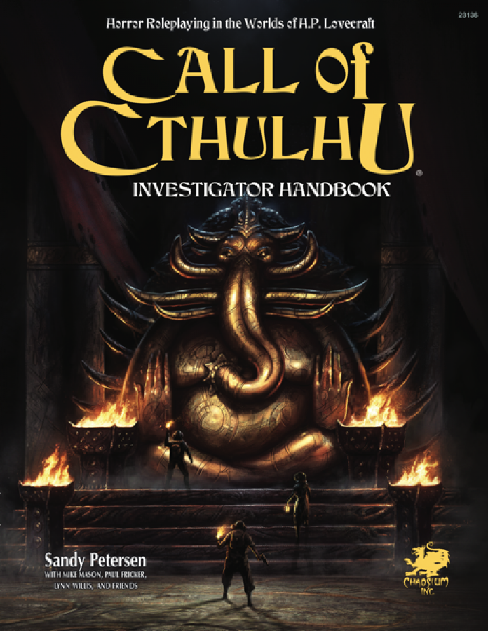 Call of Cthulhu 7th Edition - Investigator Handbook