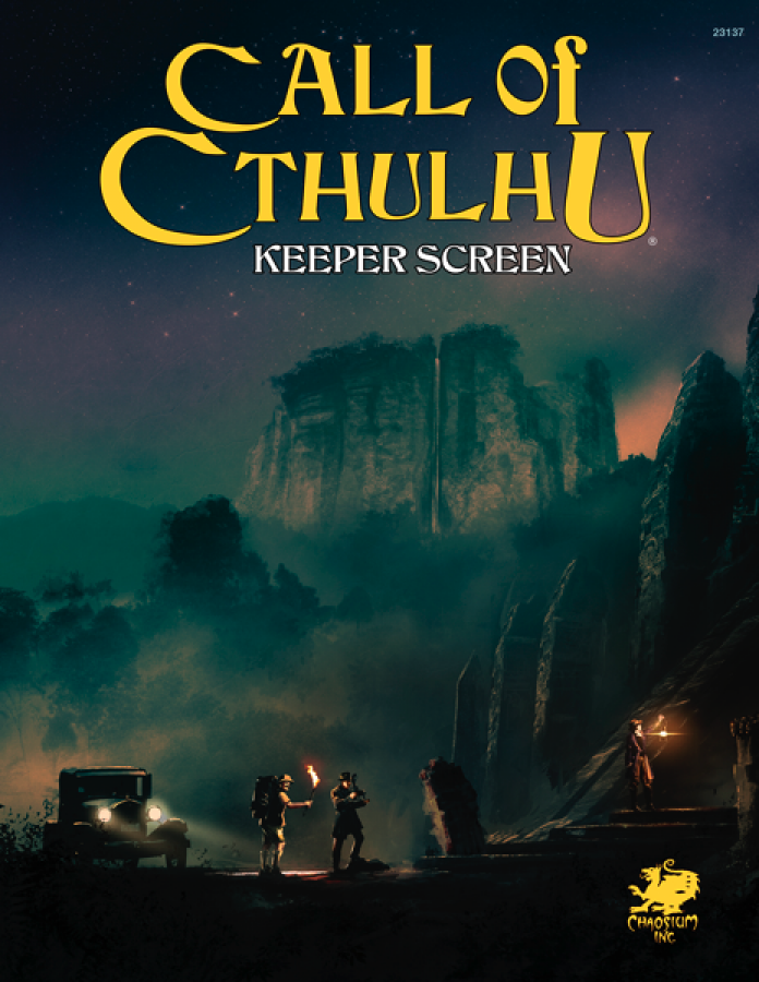 Call of Cthulhu 7th Edition - Keeper Screen