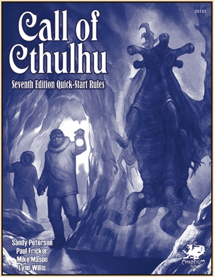 Call of Cthulhu 7th Edition - Quick-Start Rules