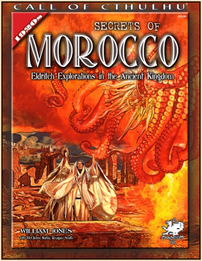Call of Cthulhu 7th Edition - Secrets of Morocco