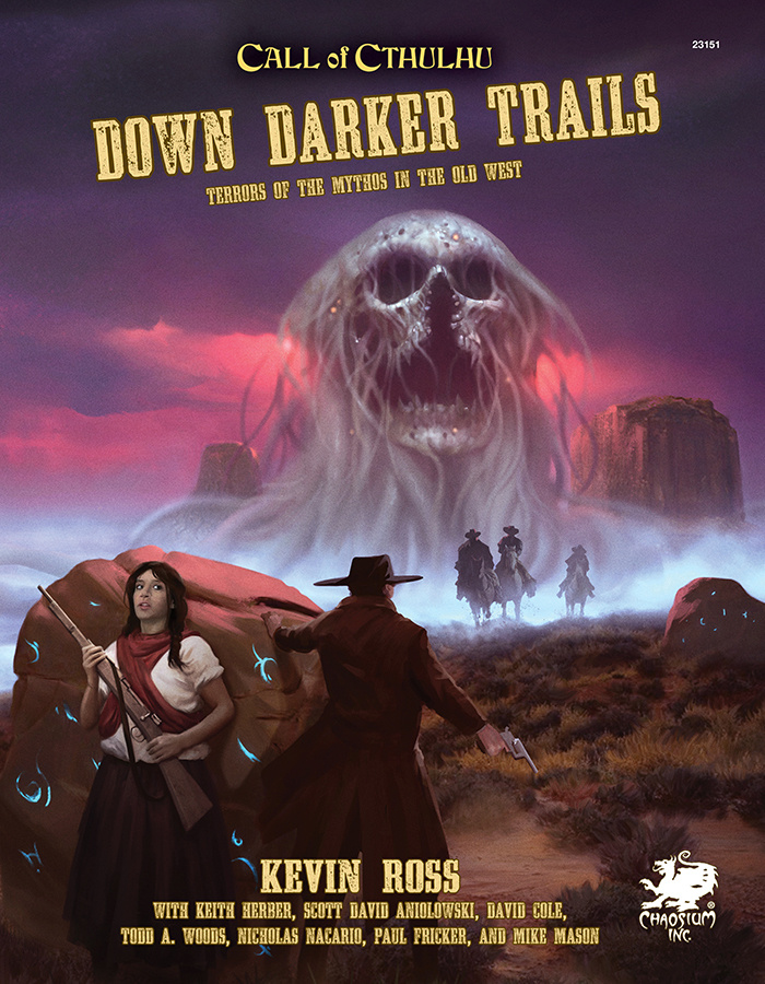 Call of Cthulhu 7th Edition: Down Darker Trails
