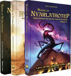 Masks of Nyarlathotep - Slipcase Set