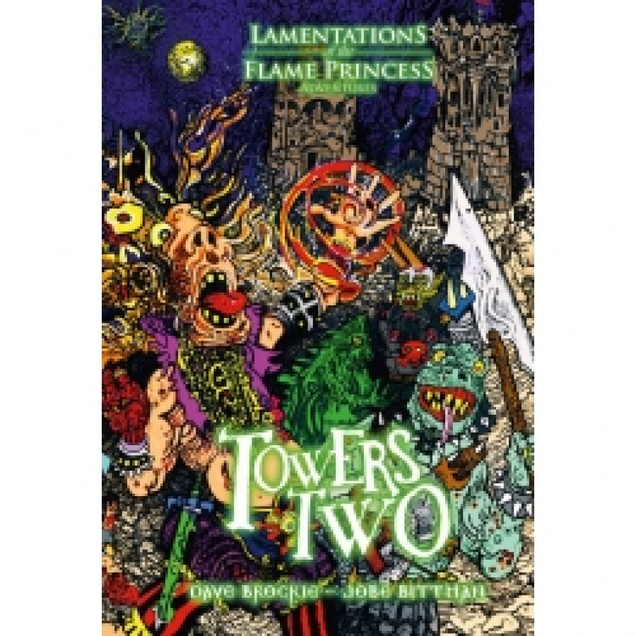 Lamentations of the Flame Princess: Towers Two