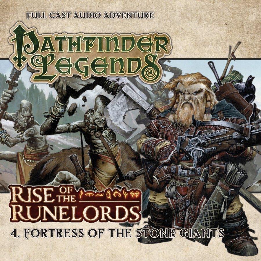 Pathfinder Legends: Rise of the Runelords - 4. Fortress of The Stone Giants