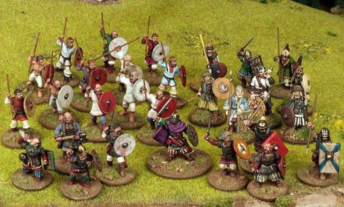 Saga: Dark Age Skirmishes - Pagan Rus Warband (4 points)