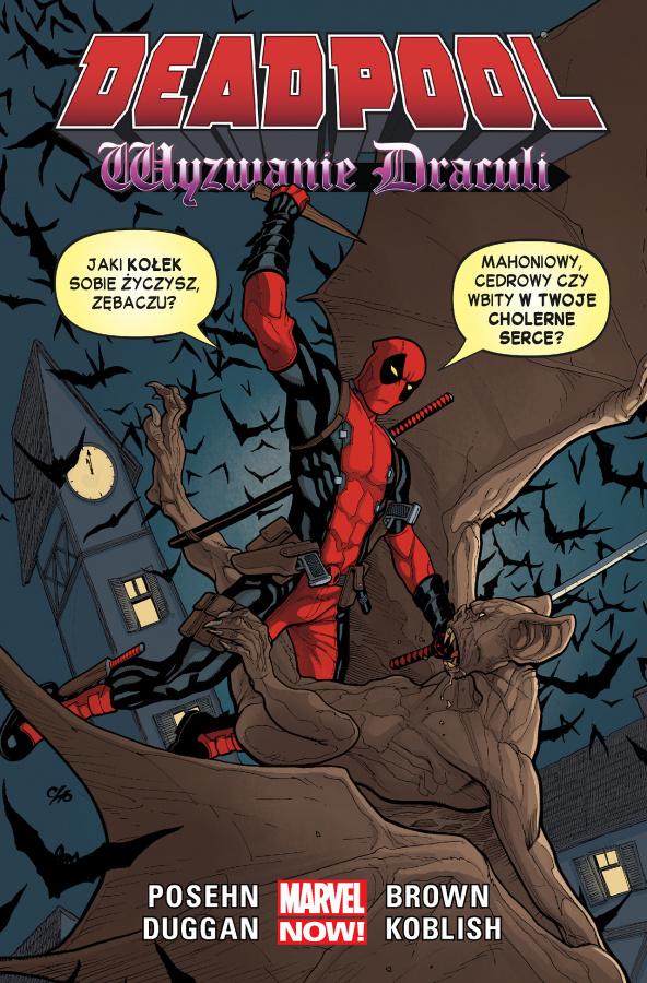 Deadpool: Tom 5 - Wyzwanie Draculi