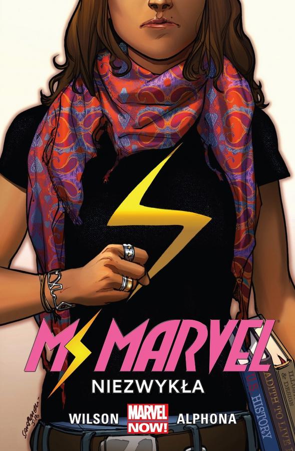 Miss Marvel: Tom 01 - Niezwykła