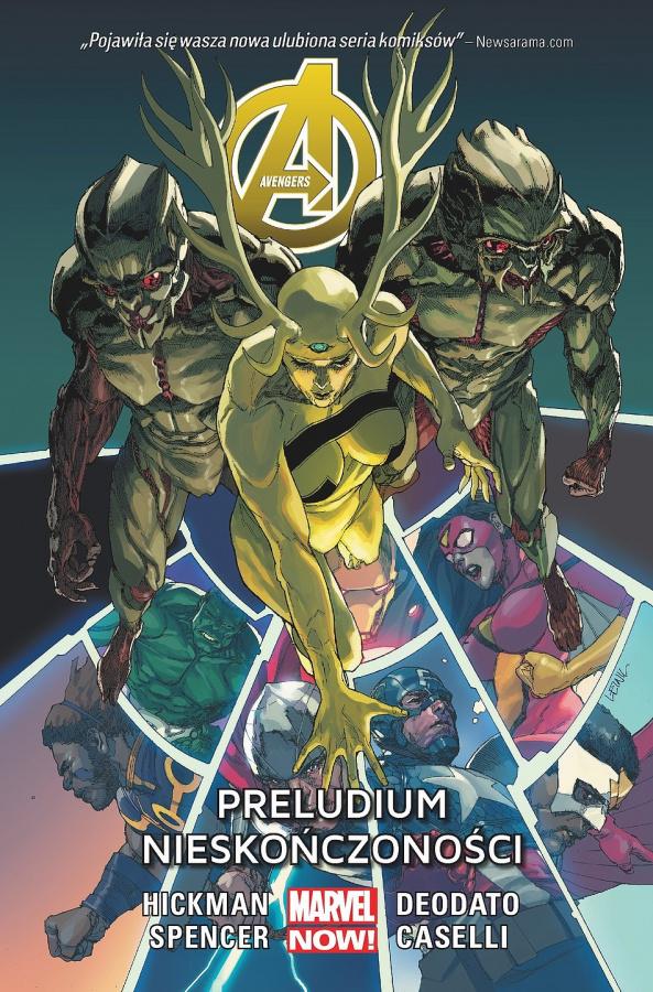 Avengers: Tom 3 - Preludium Nieskończoności