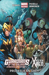 Guardians of the Galaxy / All New X-Men - Proces Jean Grey