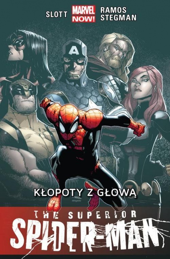 The Superior Spider-Man - Tom 3 - Kłopoty z głową