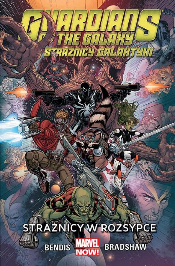 Guardians of the Galaxy - Tom 4 - Strażnicy w rozsypce